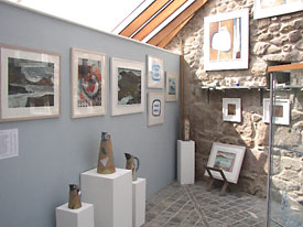 Wild Women Exhibition - Yew Tree Gallery June 2007 - click for details