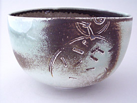 Bowl with Drawing