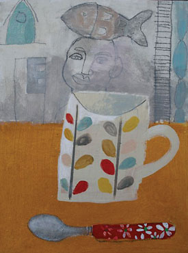 Elaine Pamphilon - Mug and Spoon St Ives