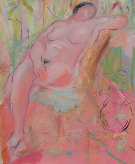 Rose Hilton : Figure in the Sun Room