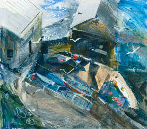 Old Lizard Lifeboat station Jessica Bright