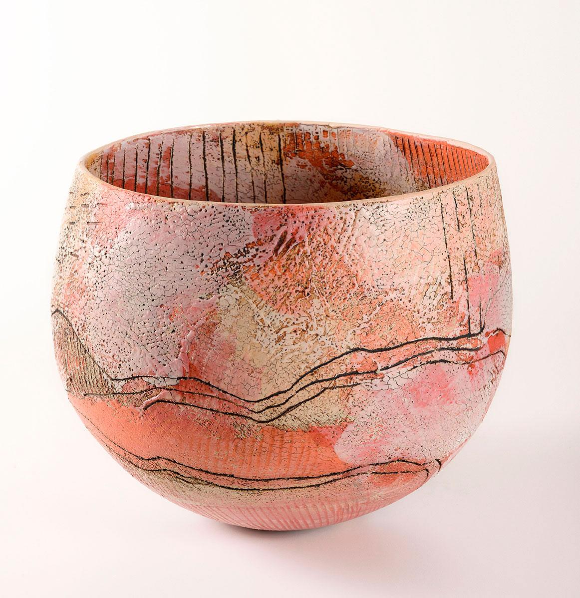 Deep Fields bowl stoneware LAUREL KEELEY